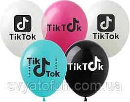 """Латексные шарики Tik-Tok 12"""" 100шт/уп Ti-1 Artshow"""