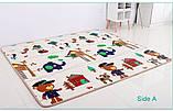 Детский игровой развивающий коврик  Мадагаскар  1200х1200х12 мм, фото 4