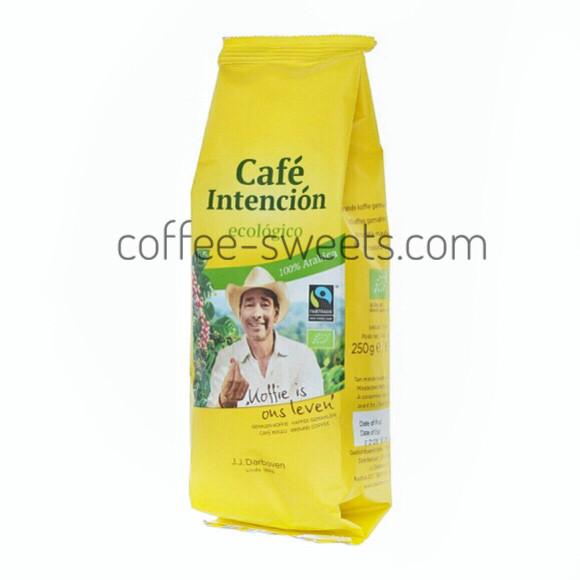 Кофе молотый J.J.Darboven Cafe Intención ecológico 250г