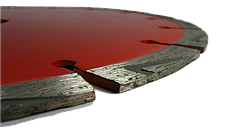 Алмазный диск по бетону 230 мм Baumesser Ziegelstein Pro 1A1RSS, фото 3