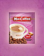 Кавовий напій MacCoffee 3 в 1 Амаретто 20 пакетиків
