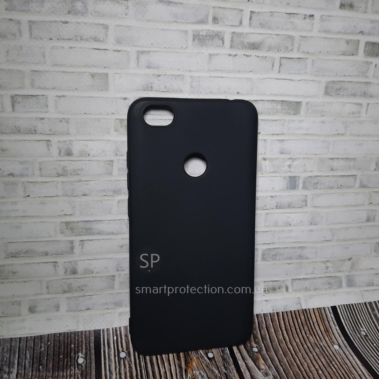 Силиконовый чехол для Xiaomi Redmi Note 5A черный