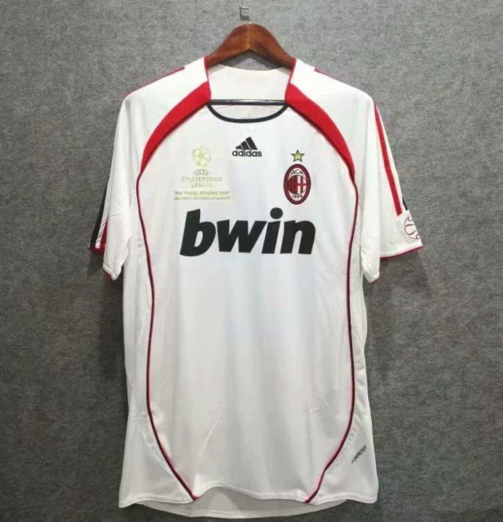 Ретро футбольна футболка Мілан