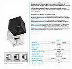 Архитектурный LED светильник Feron DH012 2x3W 4000K Белый, фото 2