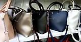 Стильная Женская сумка  из экокожи . В расцветках., фото 2
