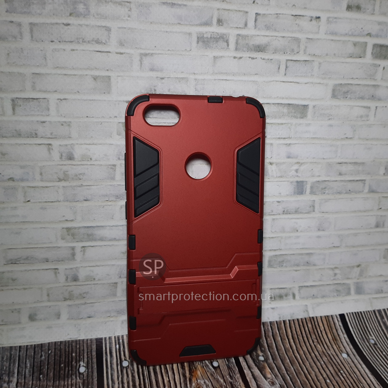 Силиконовый чехол для Xiaomi Redmi Note 5A красный  Miami Armor Case