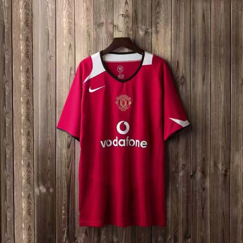 Ретро футбольна футболка Манчестер Юнайтед