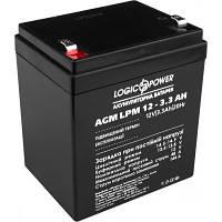 Батарея к ИБП LogicPower LPM 12В 3.3 Ач (6549)