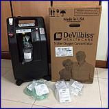 Б/У Концентратор кислорода DeVilbiss 525 KS Compact Oxygen Concentrator (Used), фото 5