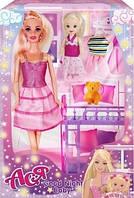 Ігровий Набір з лялькою Асею «Спокійної ночі» для дівчаток., фото 1