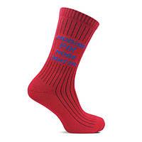 Шкарпетки чоловічі Лео лайкра червоні новий рік-нове життя, фото 1
