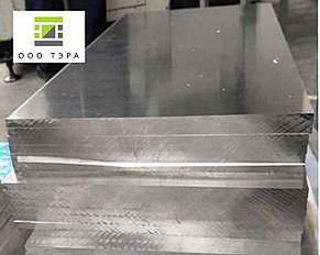 Плита алюминиевая Д16 120 мм, дюраль., фото 2