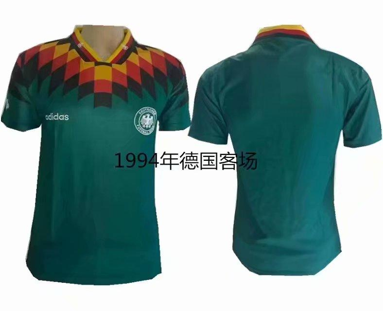 Ретро футбольная футболка сборной Германии ЧМ 1994