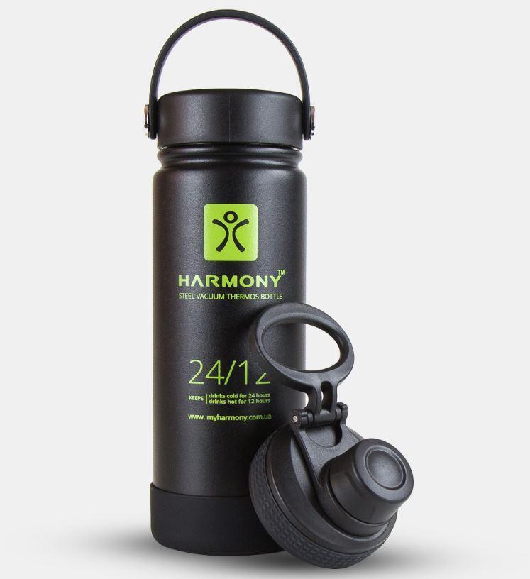 Термос Harmony Comfort 500 мл, черный