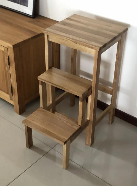 Лестница-Табурет деревянный GOOD WOOD Рускополянский Мебельный Комбинат Явир