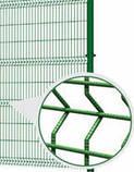 Заграда  стандарт высота 1,5 м длина  2,5 м  з ППЛ ячейка 50х200, фото 2