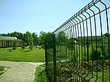 Заграда  стандарт высота 1,5 м длина  2,5 м  з ППЛ ячейка 50х200, фото 5