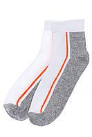 Носки спортивные 120PRU018 (Белый/светло-серый)