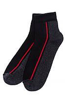 Носки спортивные 120PRU018 (Черный/темно-серый)