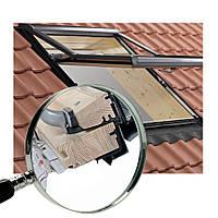 Вікно в дах Roto R7 дерев'яне, універсальне мансардне вікно Roto R7 для будь-якої покрівлі з загартованим склом