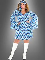 Платье с пайетками XXL Disco Lady