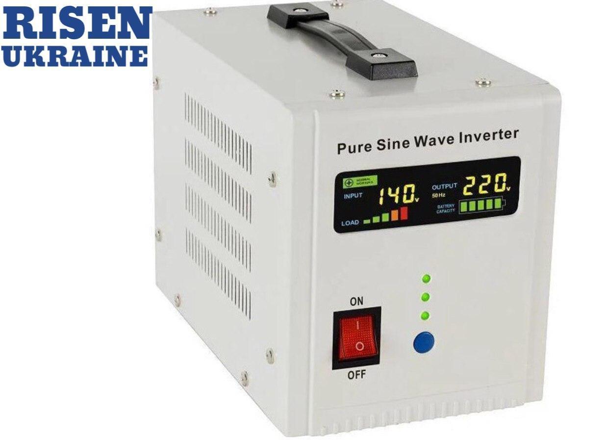 ИБП+стабилизатор 2600ВА 1800Вт 24В, AXEN.IA-2600VA новый дисплей AXIOMA energy
