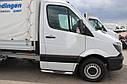 Пороги боковые (подножки-трубы с накладками) Mercedes Sprınter 2014-2018 (Ø60) грузовой, фото 2