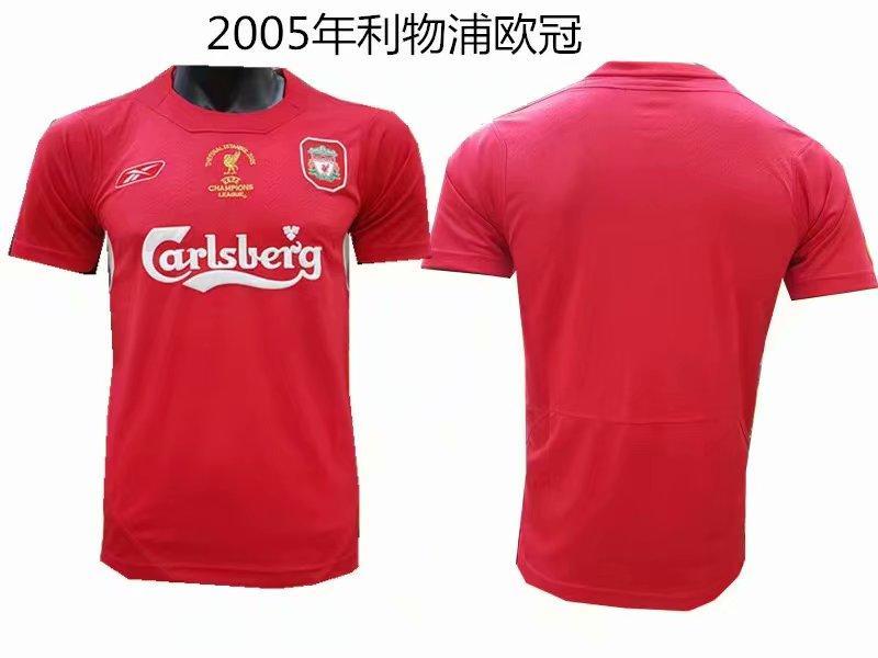 Ретро футбольная футболка Ливерпуля 2005