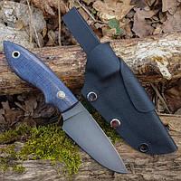 Нож ручной работы Горобець + ножны кайдекс, фото 1