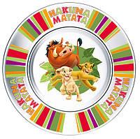 Тарелка детская десертная ОСЗ DISNEY Король Лев /19.6 см