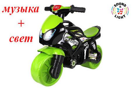 Новинка! Мотоцикл ТехноК мотобайк музыкальный Технок 6474, фото 2