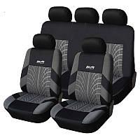 Чехлы на автомобильные кресла Supretto полный набор КОД: 4907