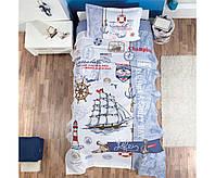 Постільна білизна з вафельним покривалом 160*240 Pike (TM Aran Clasy),Sailife Туреччина