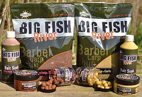Прикормка DYNAMITE BAITS Big fish river Groundbait shrimp & Krill 1.8кг, фото 2