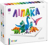 Набор пластилина Липака Динозавры 18 баночек 530 г Разноцветный  КОД: JPLD18MC