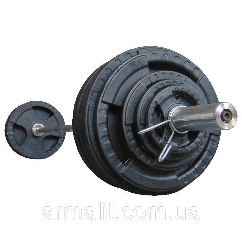 Штанга 177.5 кг наборная олимпийская АРМАЛІТ-2015