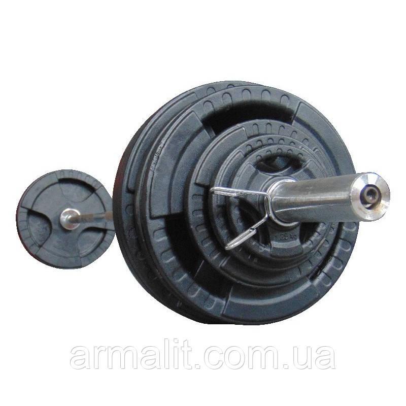 Штанга 147.5 кг наборная олимпийская АРМАЛІТ-2015