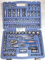 Универсальный набор инструмента для автомобиля и дома Craft 108 предметов в кейсе S-108 Ключи Головки Трещотка, фото 1