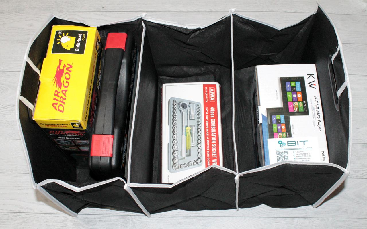 Складная сумка-органайзер в багажник автомобиля Car Boot