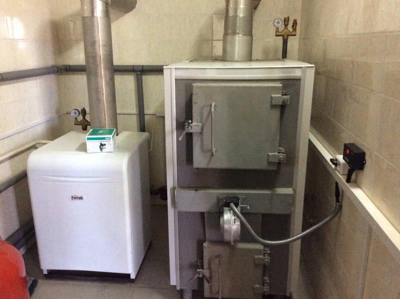 Монтаж отопления для частного дома