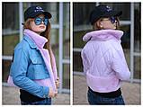 Детская джинсовая куртка парка трансформер размер:134-140, 146-152 РАСПРОДАЖА!, фото 6