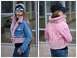 Детская джинсовая куртка парка трансформер размер:134-140, 146-152 РАСПРОДАЖА!, фото 4