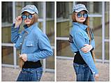 Детская джинсовая куртка парка трансформер размер:134-140, 146-152 РАСПРОДАЖА!, фото 5