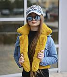Детская джинсовая куртка парка трансформер размер:134-140, 146-152 РАСПРОДАЖА!, фото 3