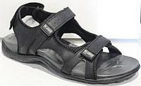 Босоножки мужские кожаные на липучках от производителя модель ДР2544-1, фото 1