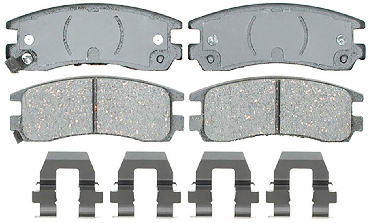 Колодки тормозные задние, дисковые ACDELCO 14D698CH Chevrolet Lumina APV, Chevrolet Venture, Pontiac Montana