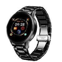 Мужские умные смарт часы Smart Watch HS-B28-HF Черные. Фитнес браслет трекер. Розумний смарт годинник