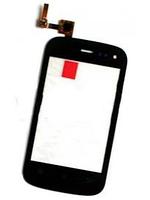 FLY IQ256 Сенсорный экран  черный