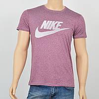 """Мужская футболка """"Вискоза"""" Nike 0220 бордо"""