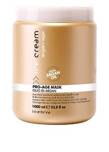 Маска с аргановым маслом для окрашенных волос Inebrya Argan Oil Pro Age Mask 1000 мл.